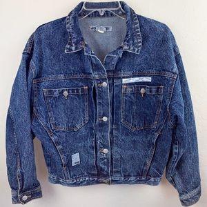 Jordache vintage denim jacket, size M